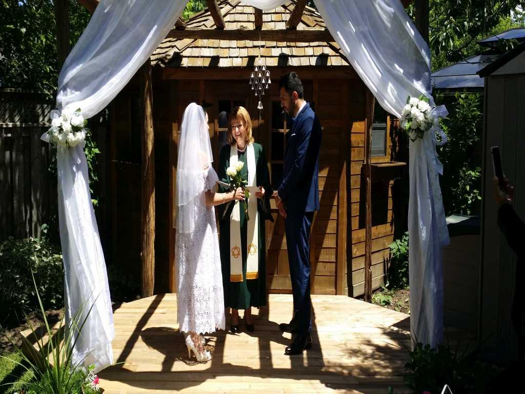 Click to Enlarge Kerry's and Alireza's   Wedding Photo