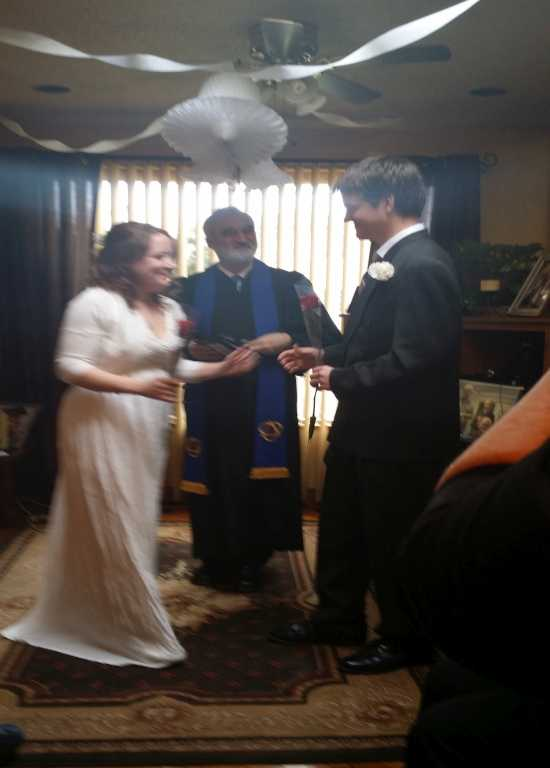 Click to Enlarge Roderic's and Rachel's Wedding Photo