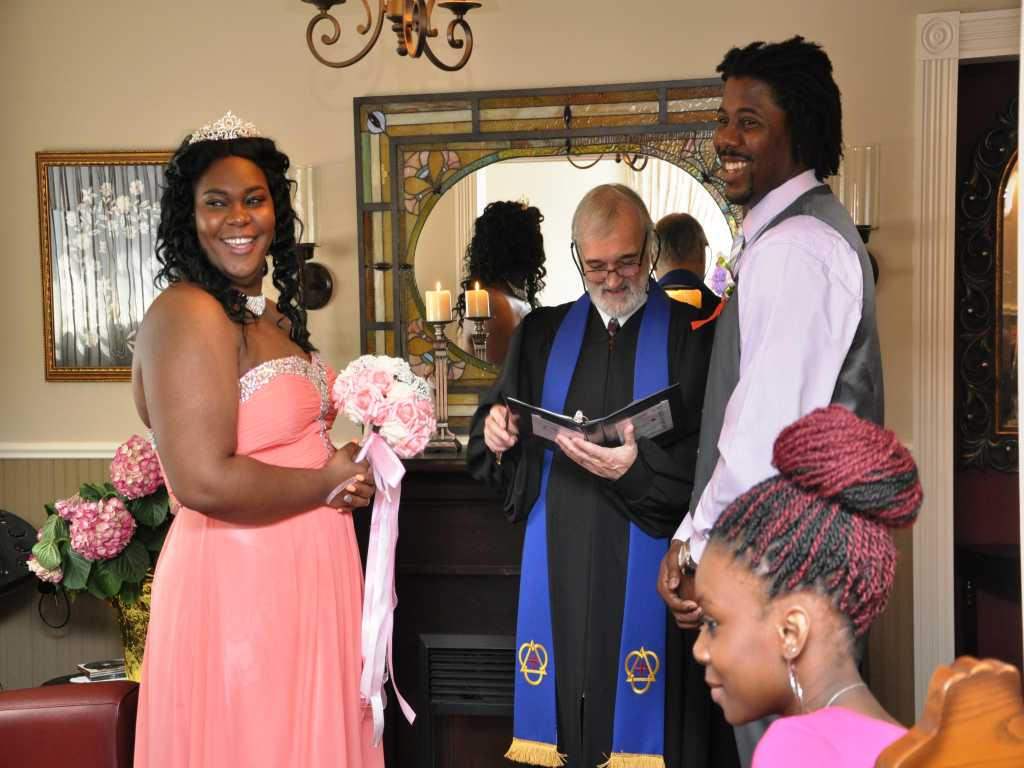Click to Enlarge Nadiege and Clyde Wedding Photo