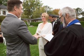 Click to Enlarge Karen's and Chris' Wedding Photo