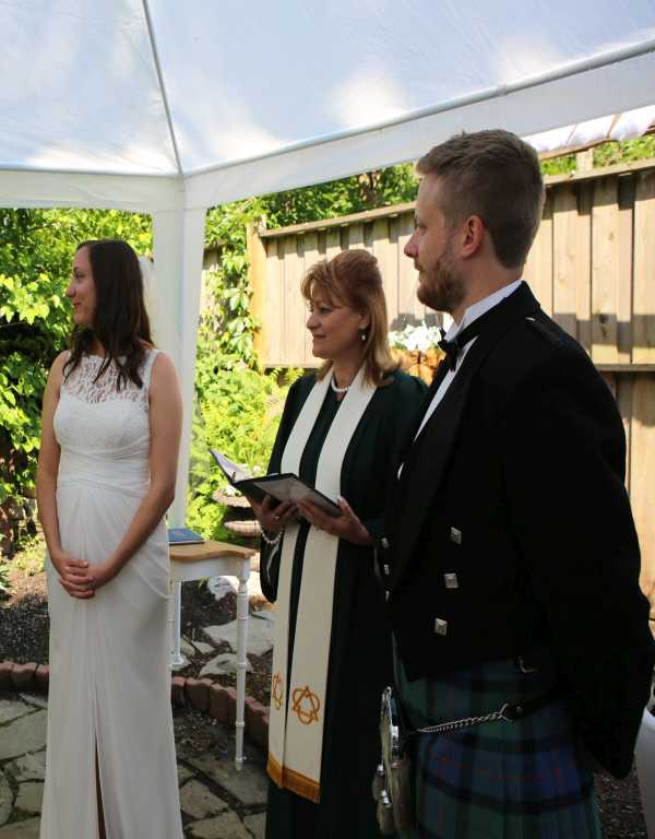 Click to Enlarge Dayna's and Patrick's  Wedding Photo